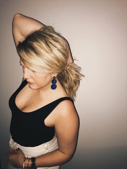 versatile earrings from Lisa Hansen at stella &dot
