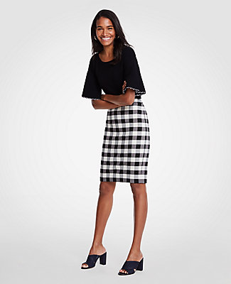 work appropriate gingham & polka dot with AnnTaylor