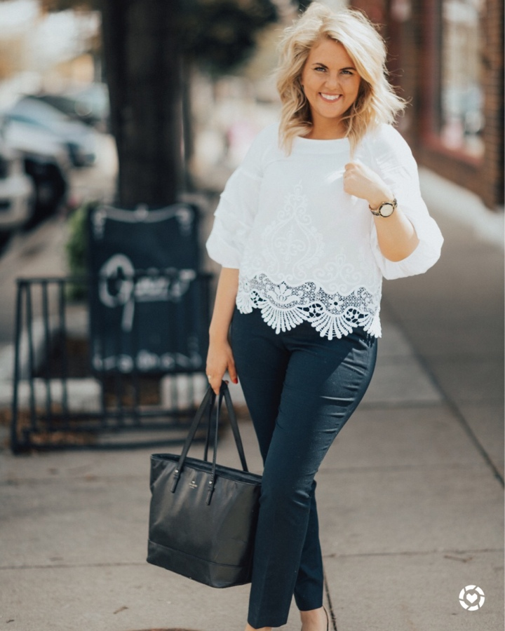 turning a casual outfit into a businesslook