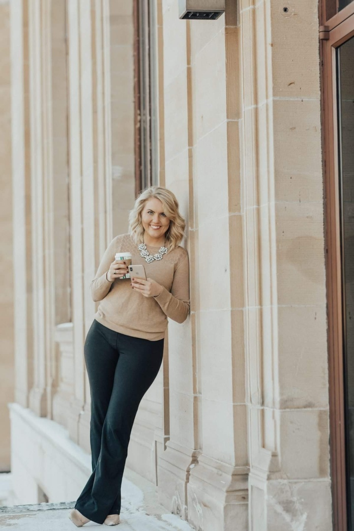 Why I am obsessed with Beta Brand Work YogaPants