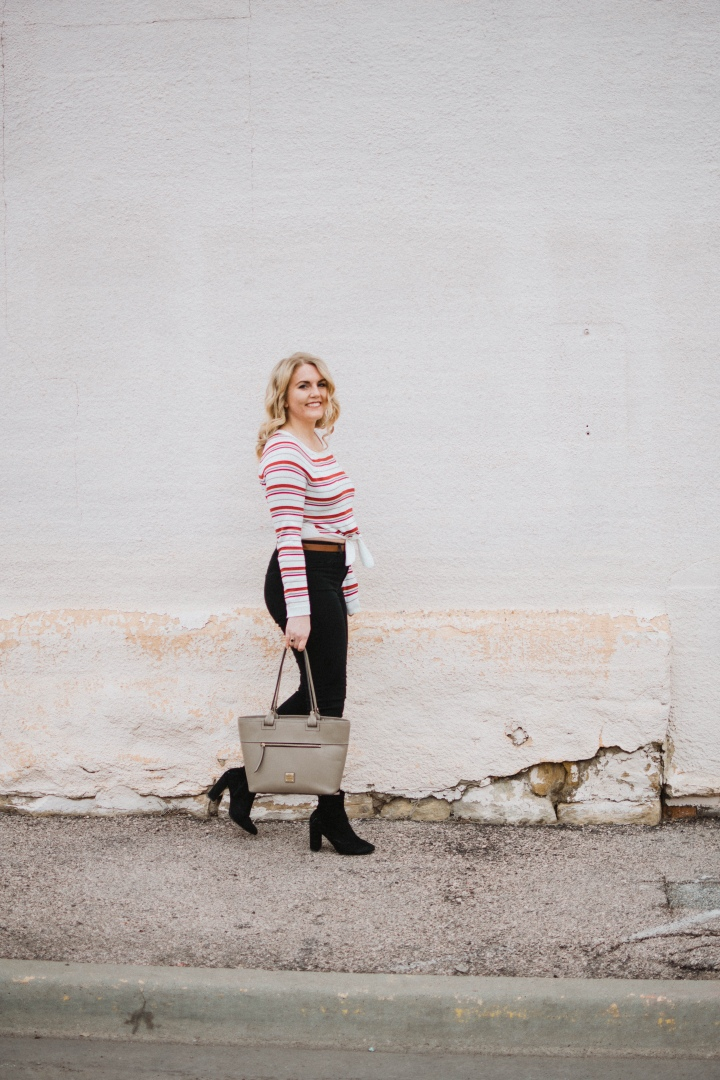 5 things unplugging from instagram taught me + 2 ways to style a crop topsweater